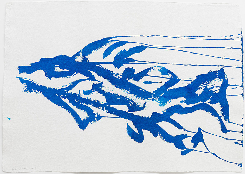 Joan Jonas – Untitled, 2013 ink on paper 50 x 71 cm