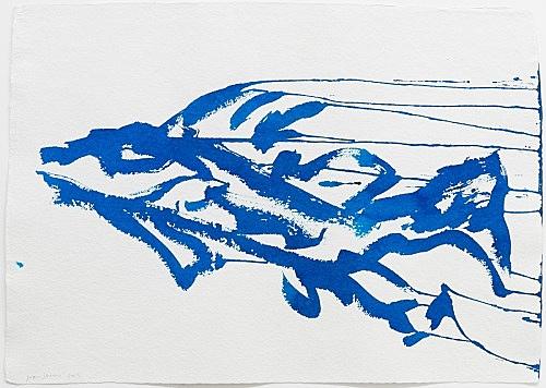 Joan Jonas – Untitled, 2013 ink on paper 50 x 71 cm