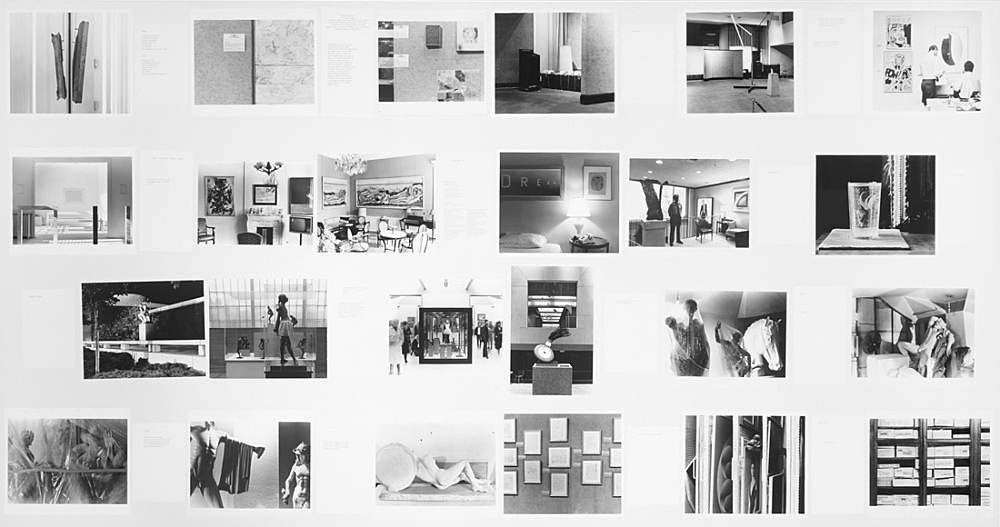 Louise Lawler – set of original photographs and captions for: Douglas Crimp On the Museum's Ruins, 1993 MIT Press, Cambridge MA, 1993