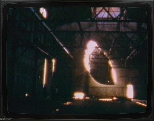 """Gordon Matta Clark – """"Day's End"""", 1975 Super 8 film, 23:10 min., color, silent DVD"""