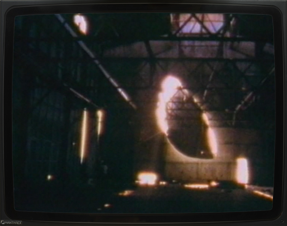 "Gordon Matta Clark – ""Day's End"", 1975 Super 8 film, 23:10 min., color, silent DVD"