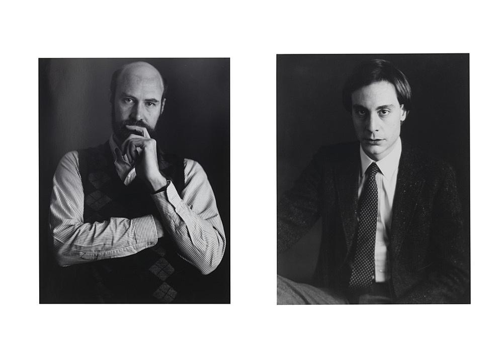 Timothy Greenfield-Sanders – Portraits of Douglas Crimp and Craig Owens