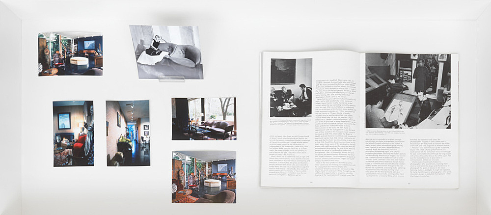 Charles James – Photographs of the interior of the DeMenil House in Houston Texas Architect: Philip Johnson Interior design: Charles James The Genius of Charles James Exh. cat. Brooklyn Museum, New York 1982 cardboard, 30,5 x 35 cm, 178 p. with illustrations in black and white