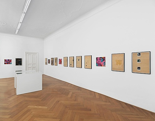 Richard Hawkins, William S. Burroughs – installation view Galerie Buchholz, Berlin 2014