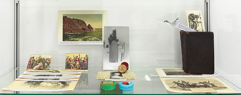 "– ""Ma-re Mount"" installation view Galerie Buchholz, Köln 2014"