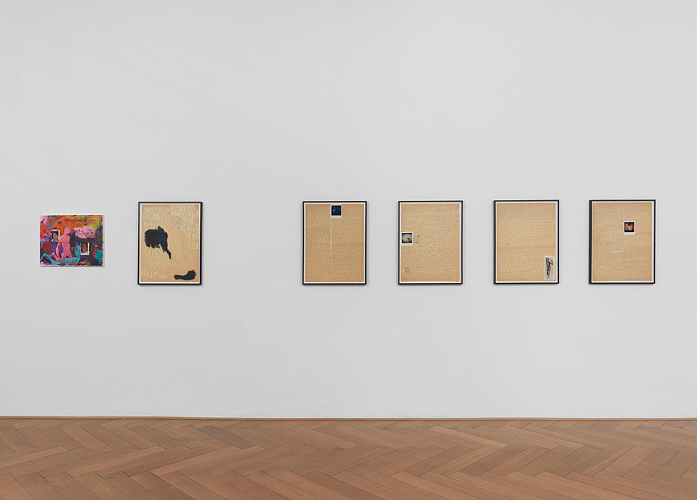 Richard Hawkins – installation view Galerie Buchholz, Berlin 2014