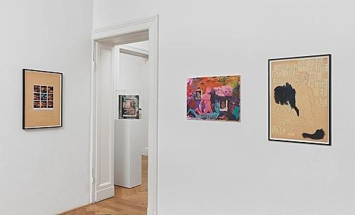 Richard Hawkins, Isa Genzken – installation view Galerie Buchholz, Berlin 2014