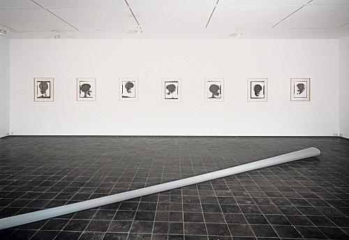 Isa Genzken – installation view Daniel Buchholz, Köln 1988