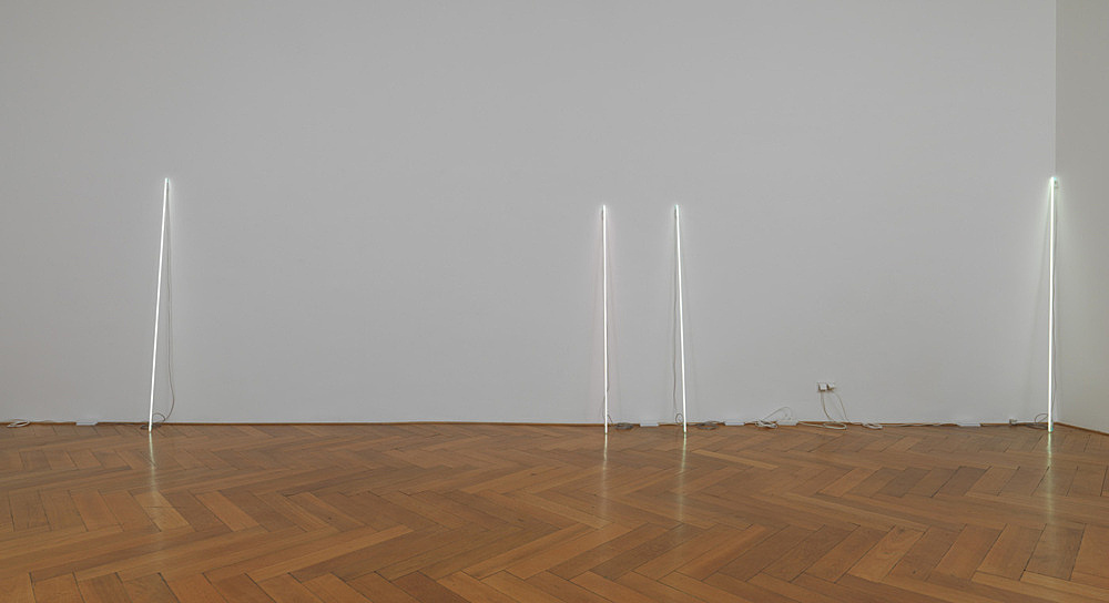Cerith Wyn Evans – c=l=e=a=v=e installation view Galerie Buchholz, Berlin 2015
