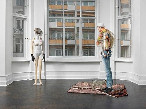 Isa Genzken – installation view Galerie Buchholz, Berlin 2015