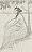 "Elie Nadelman – ""Untitled (Woman in Landscape)"", ca. 1921 pencil on paper 20 x 12,5 cm"