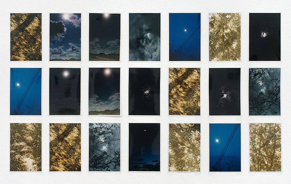 """Wolfgang Tillmans – """"Total Solar Eclipse Grid"""", 1998 31 c-prints, each 27 x 18 cm"""