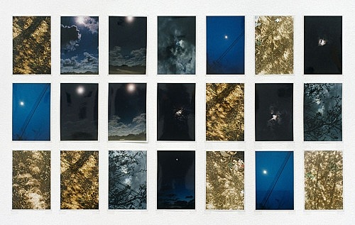 "Wolfgang Tillmans – ""Total Solar Eclipse Grid"", 1998 31 c-prints, each 27 x 18 cm"