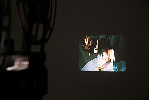 "Morgan Fisher – ""( )"", 2003 16mm, colour, b/w, silent, 21'"