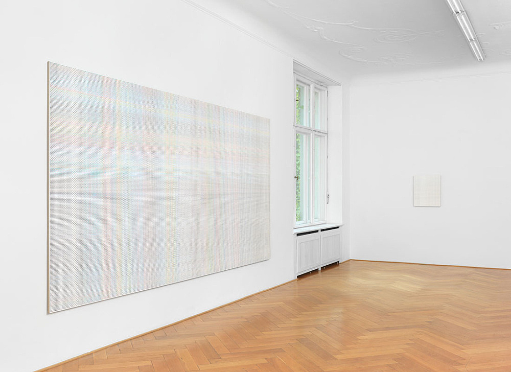 "Cheyney Thompson – ""Chambered Shells and Birdwings"" installation view Galerie Buchholz, Berlin 2015"
