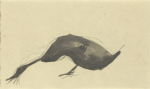 Elie Nadelman – Untitled, n.d. pencil on paper 10.6 x 17.8 cm