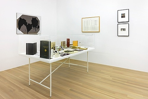 Raymond Roussel – installation view Galerie Buchholz, New York 2015