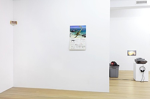 "Julie Ault – ""afterlife"" installation view Galerie Buchholz, New York 2015"
