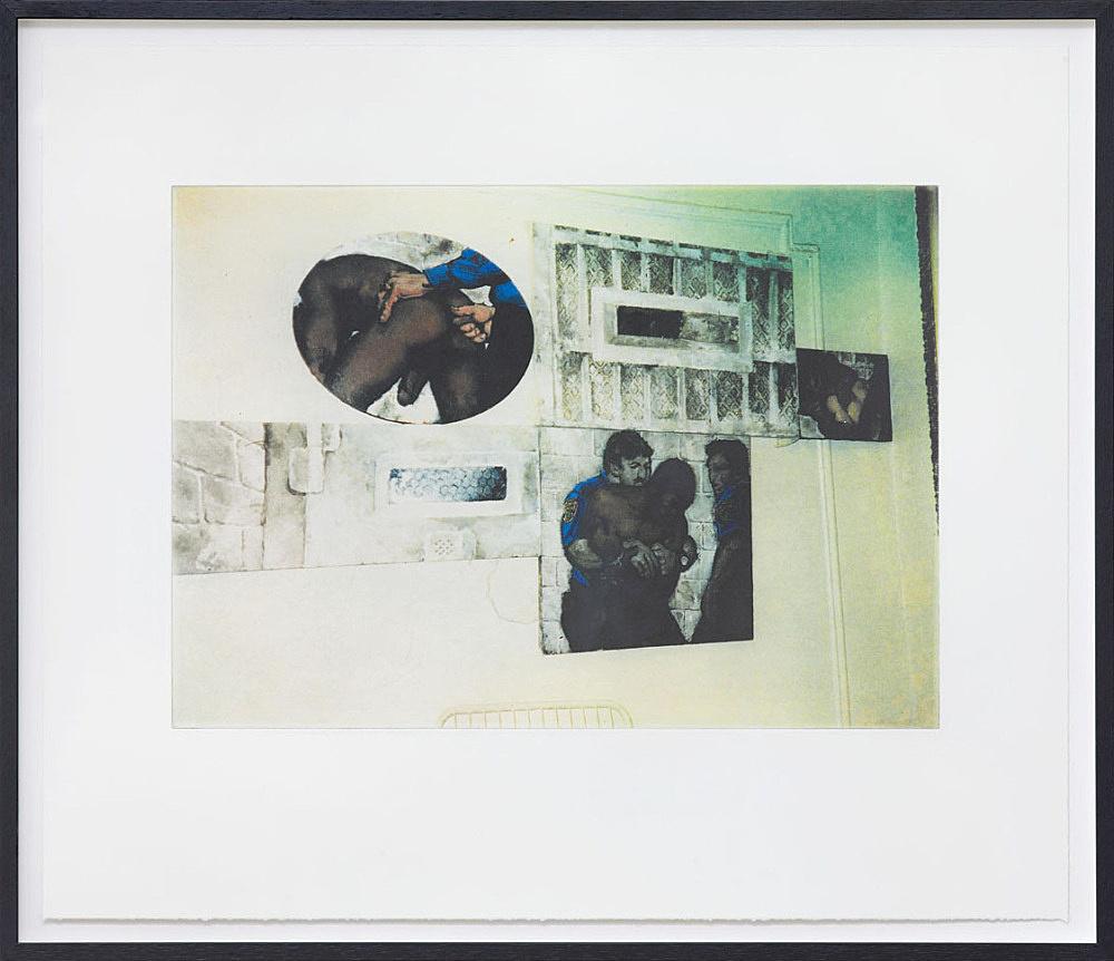 "Danh Vo – ""I M U, U R 2"", 2012 color photogravure on paper 44 x 52 cm"