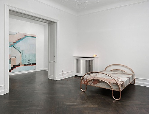 "Lucy McKenzie – ""Inspired by an Atlas of Leprosy"" installation view Galerie Buchholz, Berlin 2015"
