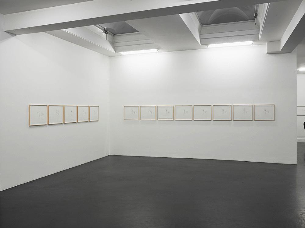 "Mathias Poledna – ""Estate"" installation view Galerie Buchholz, Köln 2015"