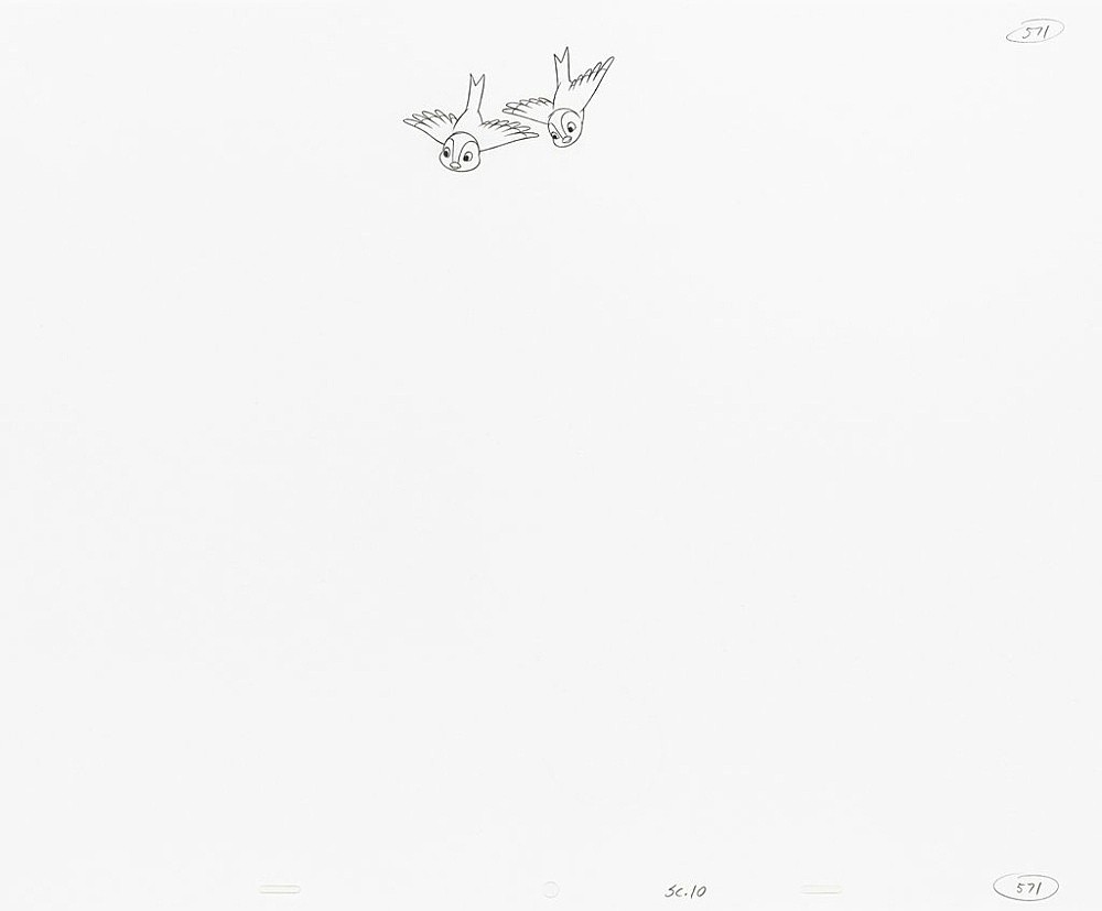 """Mathias Poledna – """"Untitled (animation drawing)"""", 2013 – 2015 15 parts, graphite and red pencil on punched 16 field animation bond paper each 34,3 x 41,9 cm (framed each 43 x 51 cm)"""