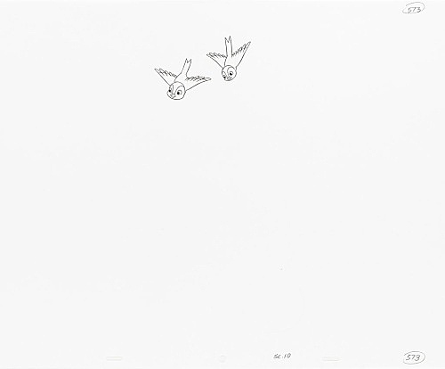 "Mathias Poledna – ""Untitled (animation drawing)"", 