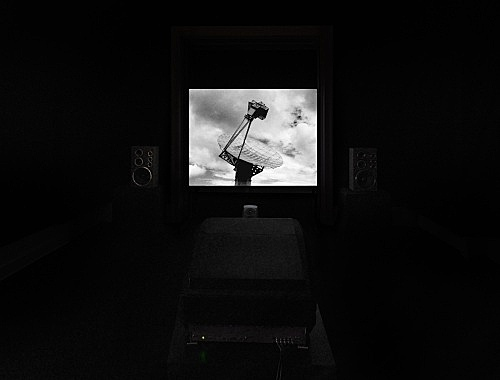 "Mark Leckey – ""Dream English Kid, 1964 - 1999 AD"", 2015 4:3 film, 5.1 surround sound 23 min. installation view Galerie Buchholz, Berlin 2016"