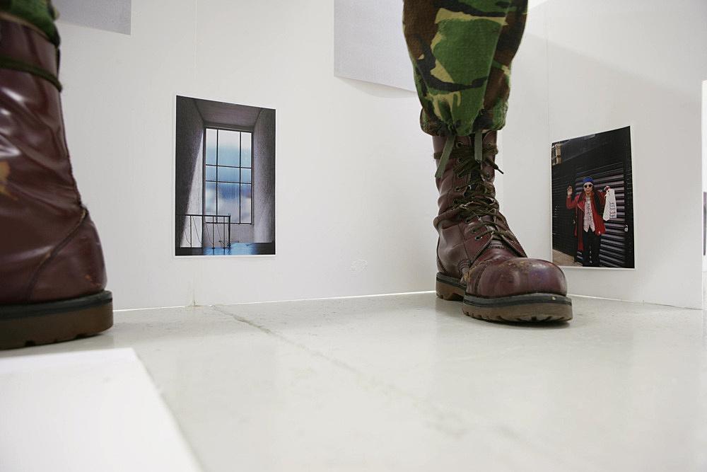 """Wolfgang Tillmans – """"Kunstverein"""", 2007 unframed inkjet print on paper, clips 138 x 208 cm"""