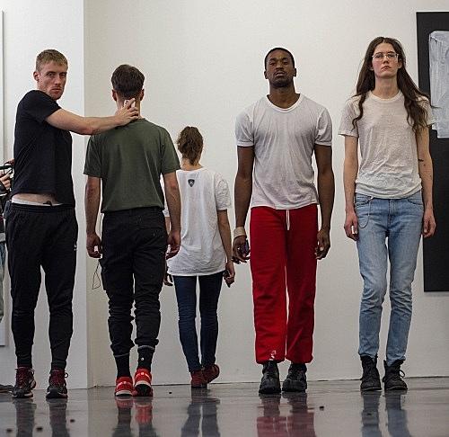 "– Performance ""Overture"" 13 April / 14 April Galerie Buchholz, Köln 2016"