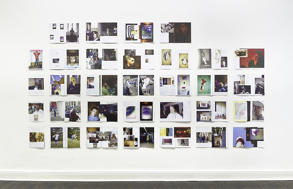 Wolfgang Tillmans – arena homme + grid, 2015 60 magazine pages 184 x 345,5 cm