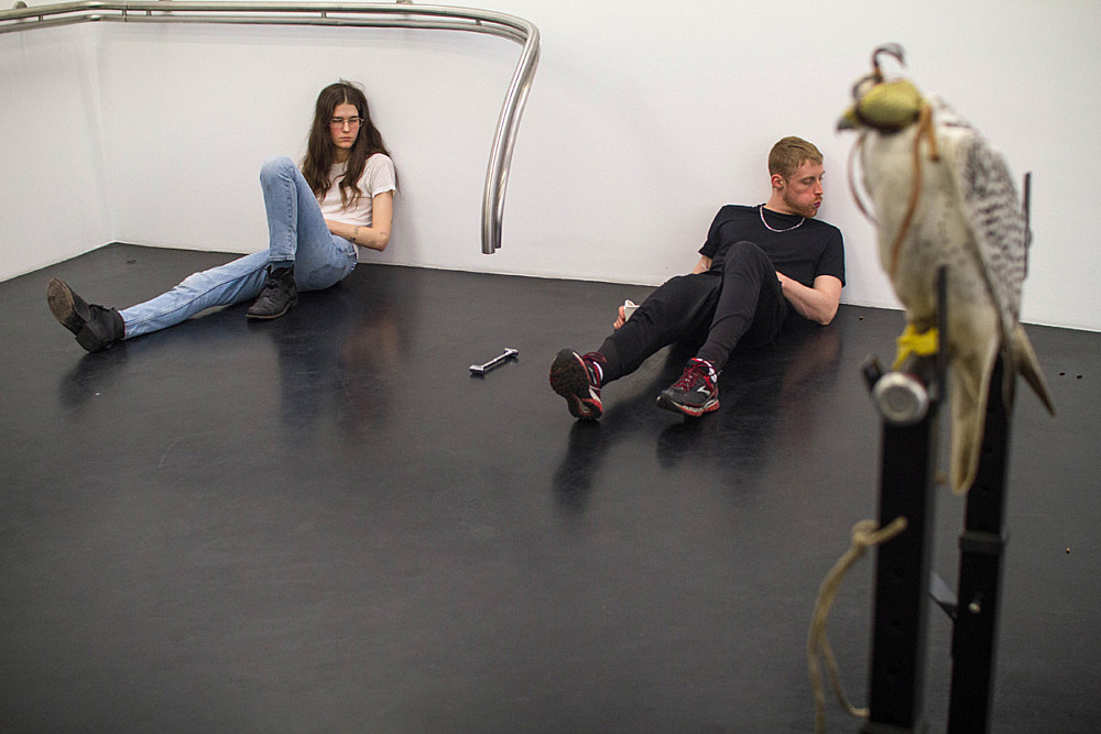 "– Performance ""Overture"" 13 April / 14 April Galerie Buchholz, Köln 2016"
