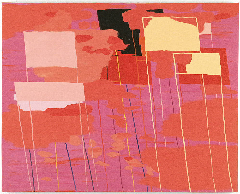 "Richard Hawkins – ""Mostly pink"", 2000 oil on canvas 61 x 77 cm"