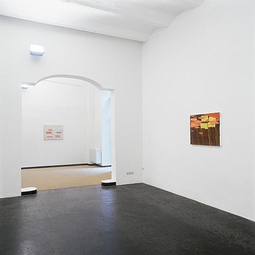 Richard Hawkins – installation view Galerie Daniel Buchholz, Köln 2000