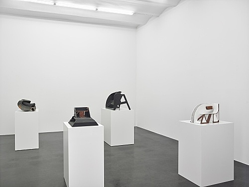 Vincent Fecteau – installation view Galerie Buchholz, Köln 2016