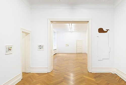 John Kelsey – installation view Galerie Buchholz, Berlin 2016