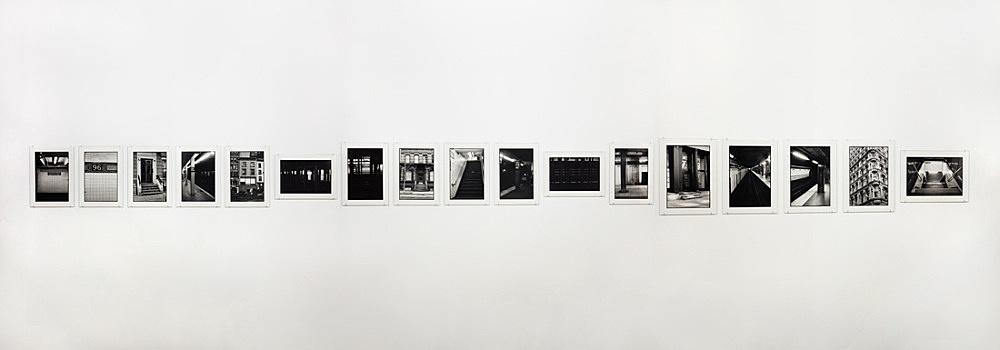 "Zoe Leonard – ""Downtown (for Douglas)"", 2016 17 gelatin silver prints 30.8 x 22.2 cm each"