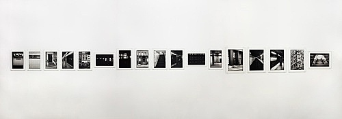 "Zoe Leonard – ""Downtown (for Douglas)"", 2016 17 gelatin silver prints 30.8 x 22.2 cm each"
