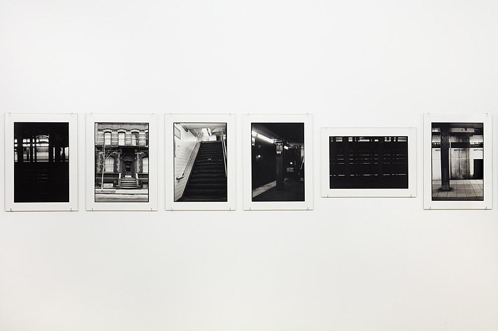 "Zoe Leonard – ""Downtown (for Douglas)"", 2016 17 gelatin silver prints 30.8 x 22.2 cm each detail"