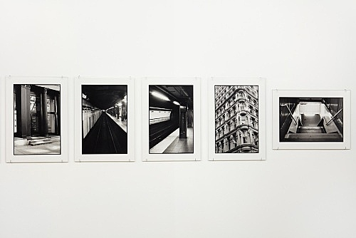 "Zoe Leonard – ""Downtown (for Douglas)"", 2016 17 gelatin silver prints 30.8 x 22.2 cm each detail"