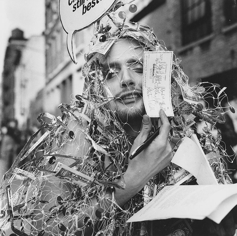 "Peter Hujar – ""Stephen Varble, Soho, Franklin Street (I)"", 1976 gelatin-silver print 35.8 x 36.2 cm (image), 50.8 x 40.6 cm (sheet)"