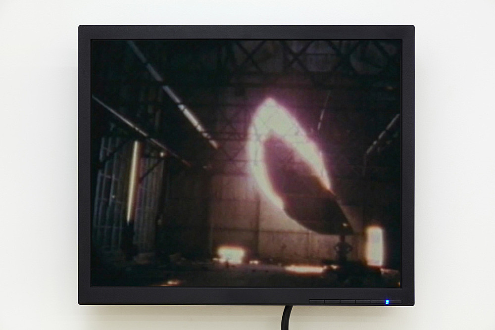 "Gordon Matta Clark – ""Day's End"", 1975 super 8 film, 23:10 min., color, silent digital transfer Electronic Arts Intermix, New York"