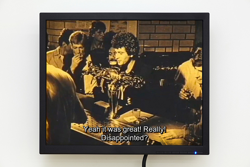"Lionel Soukaz and Guy Hocquenghem – ""Race d'Ep"", 1979 Film, color, sound digital transfer Lionel Soukaz and Artists Space, New York"