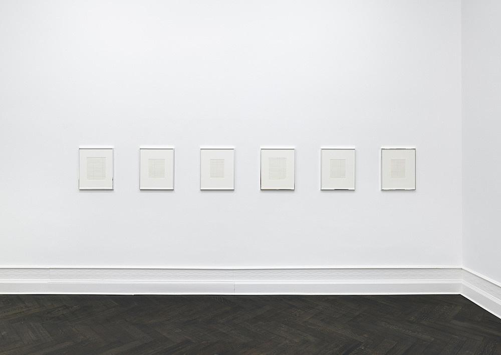 Michael Krebber – Flat Finish installation view Galerie Buchholz, Berlin 2016