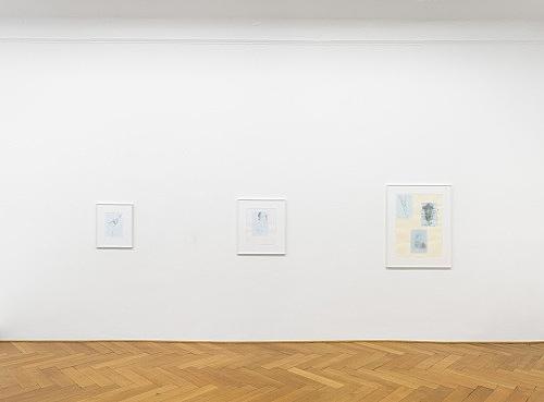 Mayo Thompson – ? installation view Galerie Buchholz, Berlin 2016
