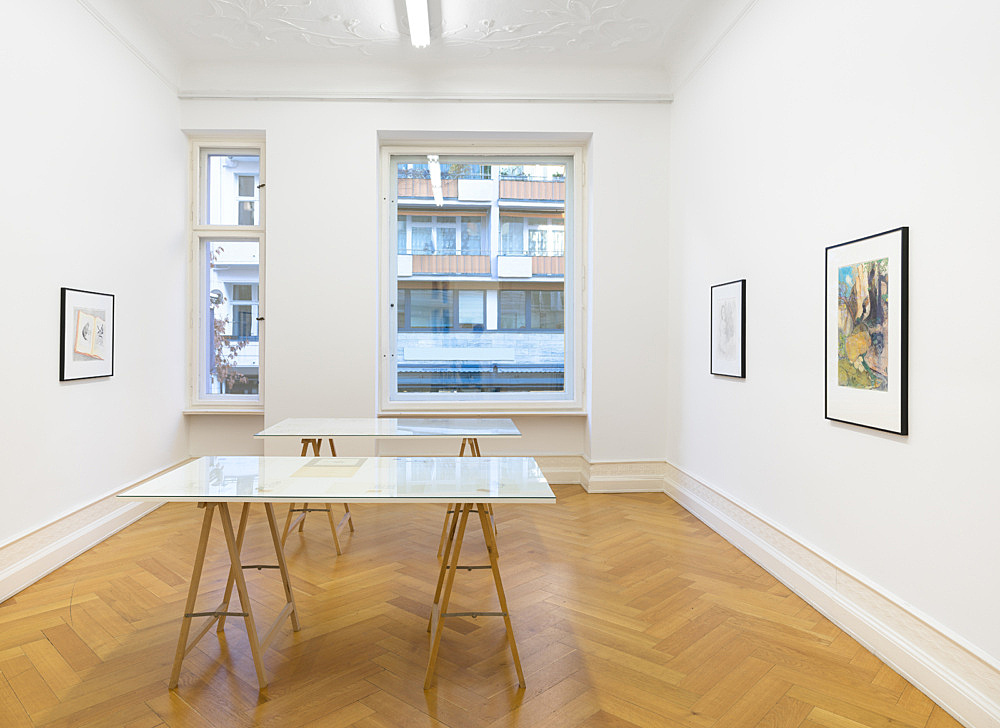 Mayo Thompson – ? installation view Galerie Buchholz, Berlin 2016