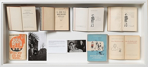 "– Publications and material related to the author Irmgard Keun and the production of Loretta Fahrenholz's film ""Two A.M."""