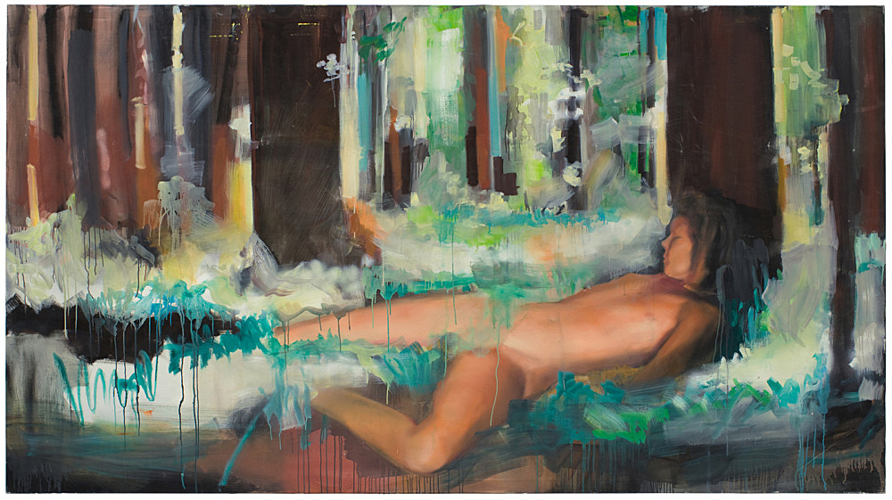 Jochen Klein – Untitled, 1994 oil on canvas 144 x 260 cm