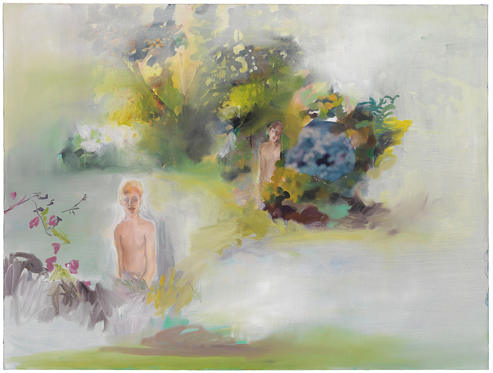 Jochen Klein – Untitled, 1997 oil on canvas 76 x 101 cm