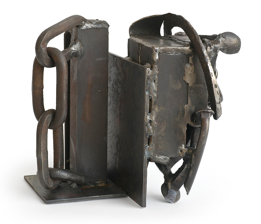 "Melvin Edwards – ""Combination"", 2005 welded steel 28 x 20 x 25.5 cm"